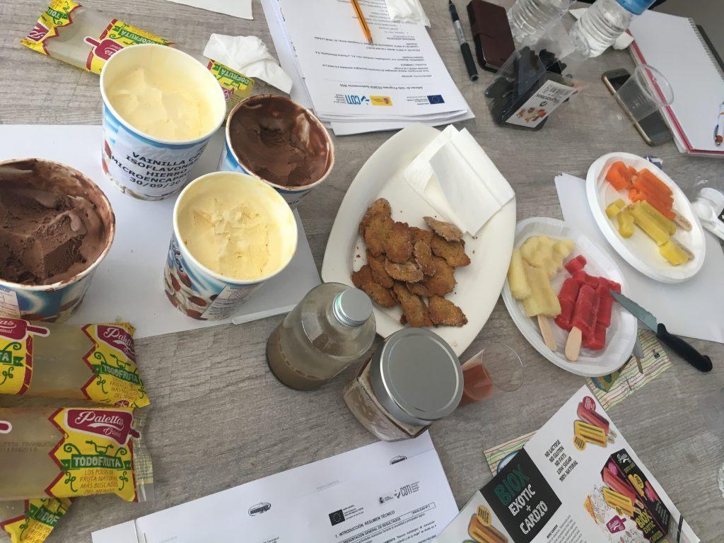 Alimentos y ejemplos - Proyecto CARMENTA
