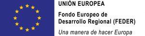 Logo FEDER (Fondo Europeo de Desarrollo Regional)