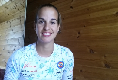 Entrevista a Victoria Padial, biathleta olímpica granadina